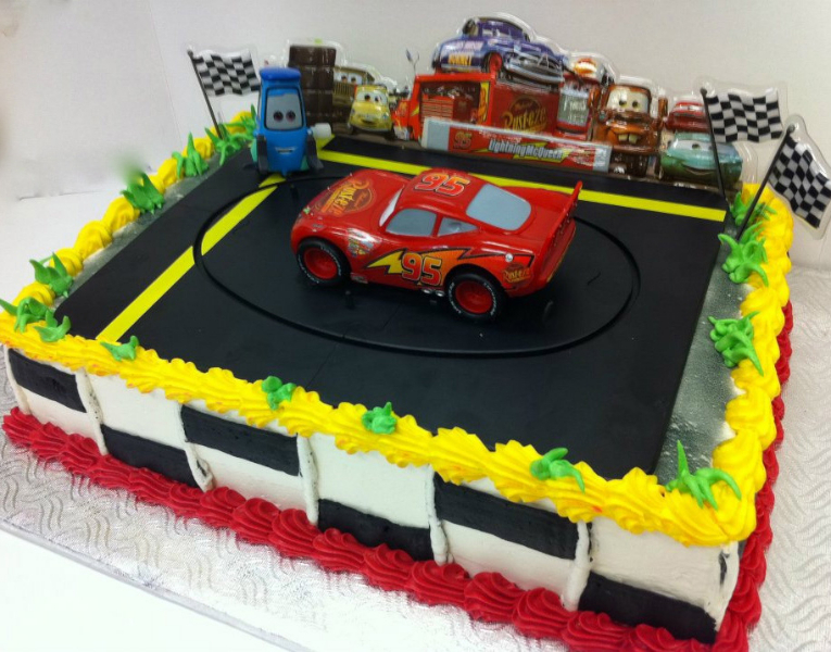 Cake Images Of Cars : cars-cake