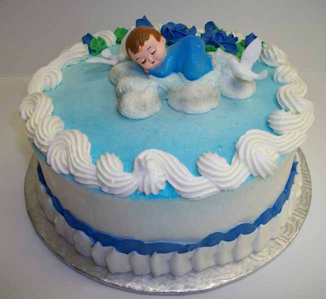 Baptism And Communion Cakes/Birthday Cakes